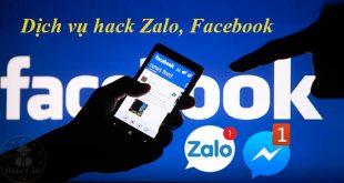 Dịch vụ hack Zalo, Facebook, Viber, Messenger, Gmail, Whatsapp