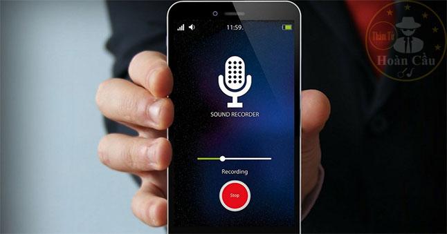 Cài phần mềm nghe lén âm thanh xung quanh điện thoại