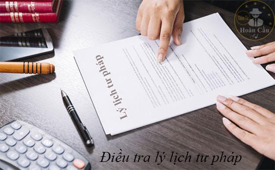 Dịch vụ điều tra nhân thân, xác minh lý lịch, lai lịch tư pháp