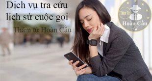 Dịch vụ lấy danh sách cuộc gọi của viettel, mobifone, vinaphone