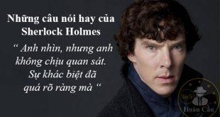Trích dẫn những câu nói hay của Sherlock Holmes