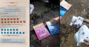 Clip phụ huynh đốt sách công nghệ tiếng việt của G.S Hồ Ngọc Đại