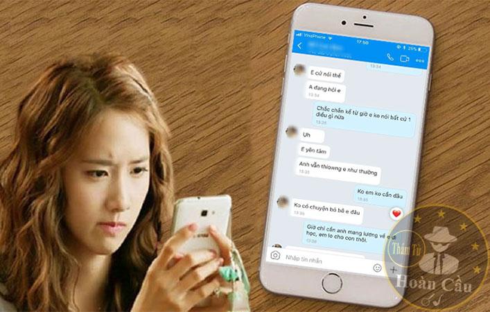 Cách theo dõi vợ chồng qua Zalo Messenger Facebook bằng phần mềm