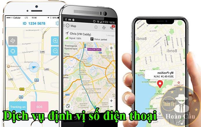 Dịch vụ định vị số điện thoại của người khác đang ở đâu trên bản đồ