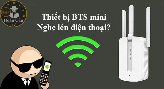 Thiết bị an ninh mạng BTS mini theo dõi điện thoại