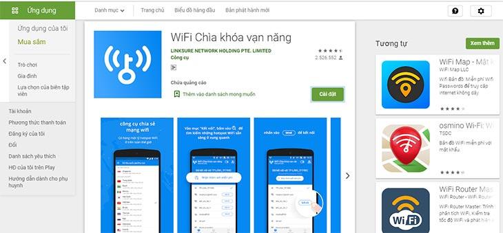 Cách hack mật khẩu wifi bằng chìa khóa vạn năng đẻ dung chùa miễn phí