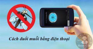 Cách đuổi muỗi bằng điện thoại qua phần mềm Anti Mosquito