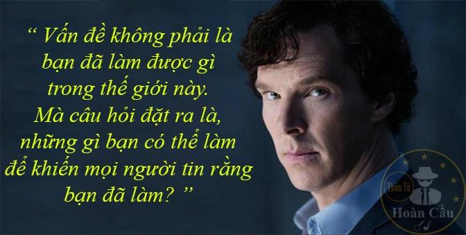 Trích dẫn những câu nói hay của thám tử Sherlock Holmes