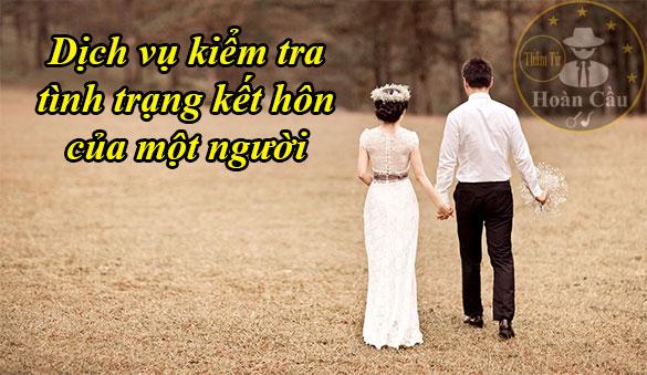Cách kiểm tra tình trạng hôn nhân của 1 người qua cmnd online