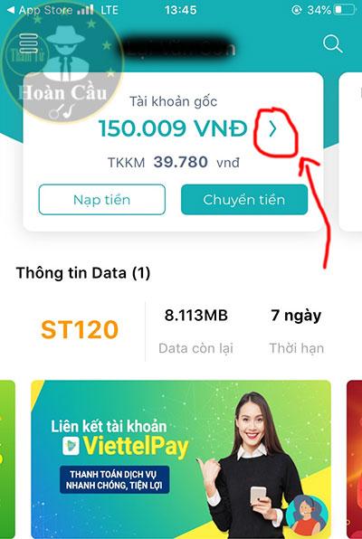 Cách xem nội dung tin nhắn trên My Viettel