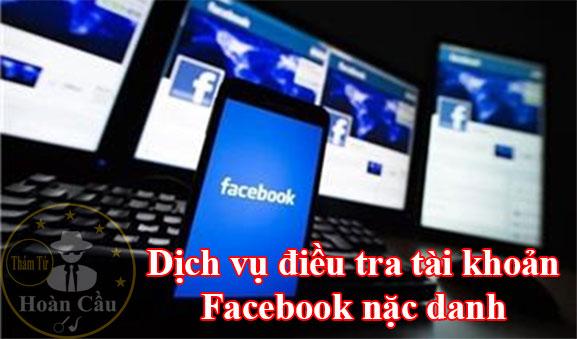 dịch vụ điều tra Facebook nặc danh bôi xấu danh dự nhân phẩm