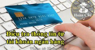 Kiểm tra lấy thông tin từ tài khoản ngân hàng người khác