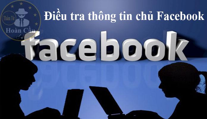 Dịch vụ định vị, điều tra thông tin chủ nick Facebook nặc danh