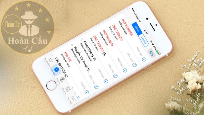 Phần mềm tra cứu nhật ký lịch sử cuộc gọi viettel mobifone, vinaphone