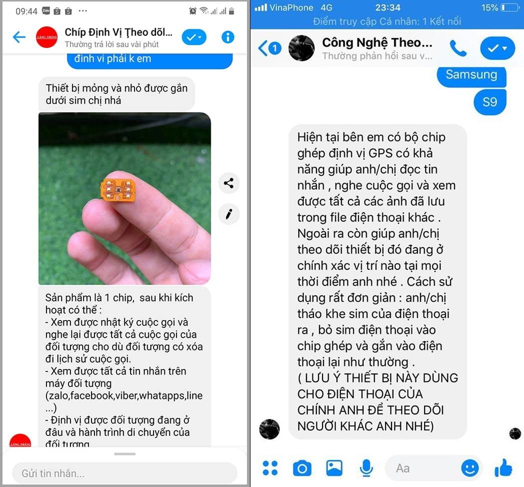 phần mềm theo dõi tin nhắn Zalo Messenger không cần cài đặt lừa đảo